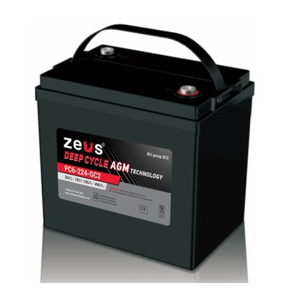Zeus PC6-224-GC2 Battery