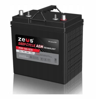 Zeus PC8-165-GC8 Battery