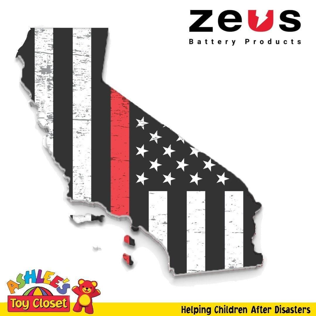 ZEUS + Ashlee's Toy Closet : California Wild Fire Donation