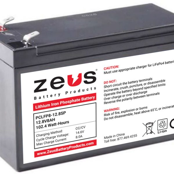 PCLFP8-12.8SP Battery